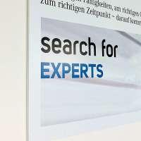 Digitaldruck Wandrahmen für Büroeinrichtung