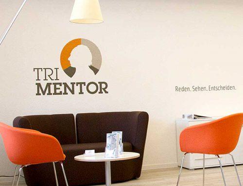 Wandgestaltungen für die Firma Tri Mentor