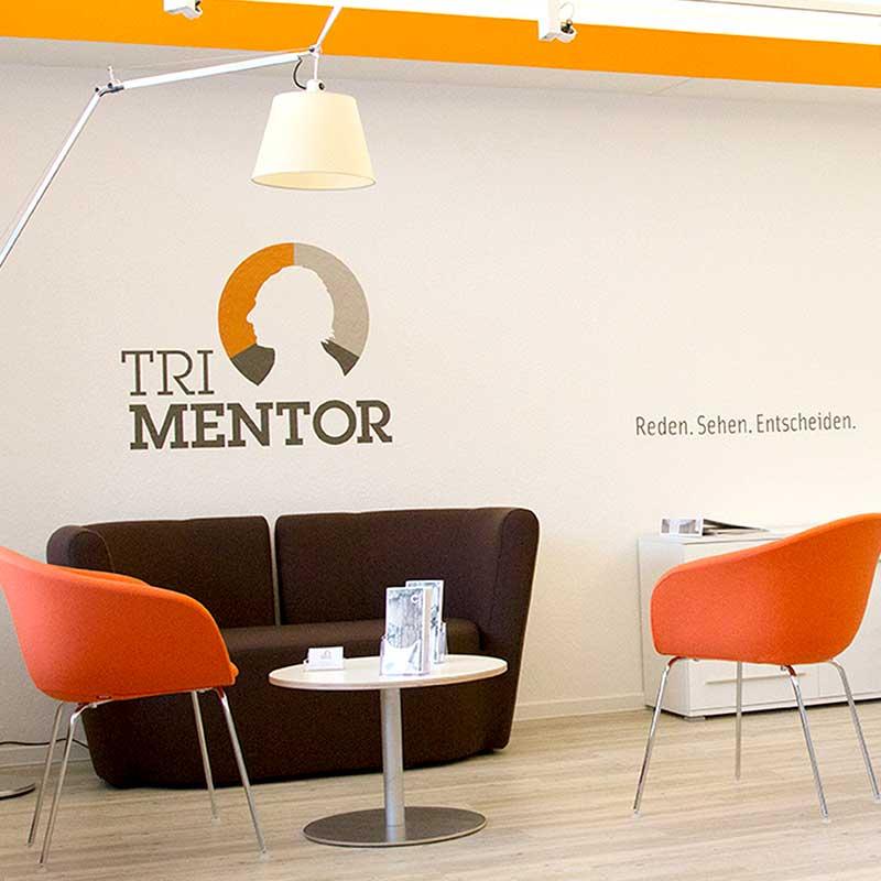 Fototapete und Wandtattoo für Tri Mentor