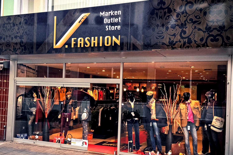 Firmenschilder Worms V.Fashion