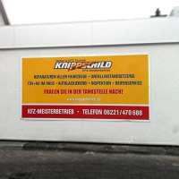 Werbeschild für die Firma Knippschild