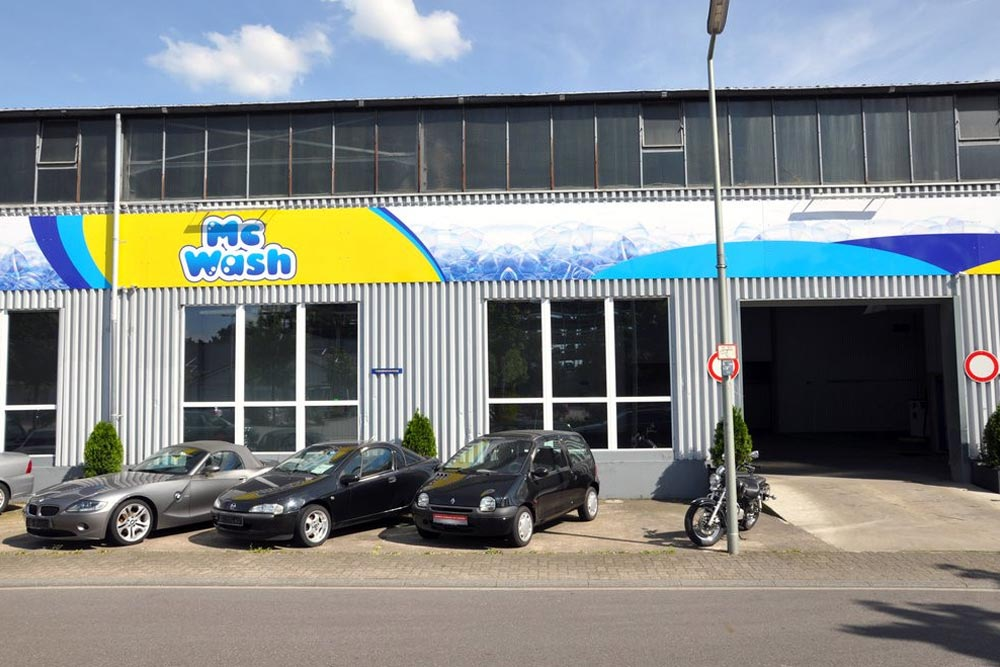 Firmenschilder MC-Wash