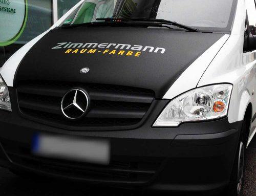 Fahrzeugfolierung für die Firma Zimmermann