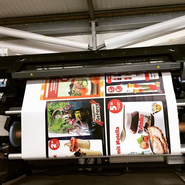 Latexdruck Backlit-Folie