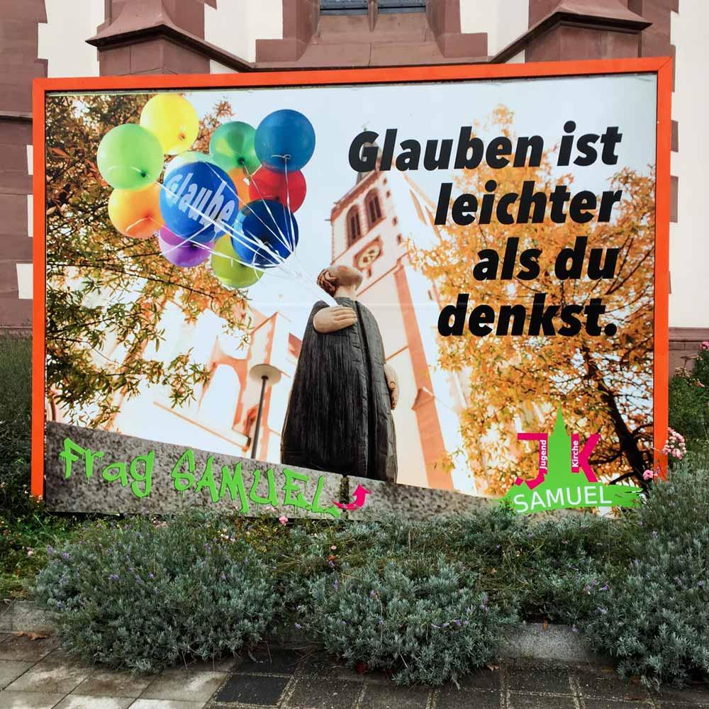 Poster für den Außenbereich