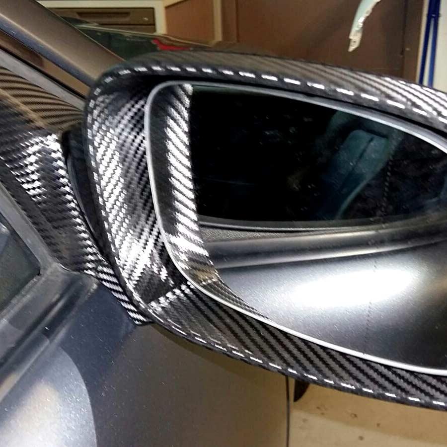 CarWrapping Mercedes Seitenspiegel
