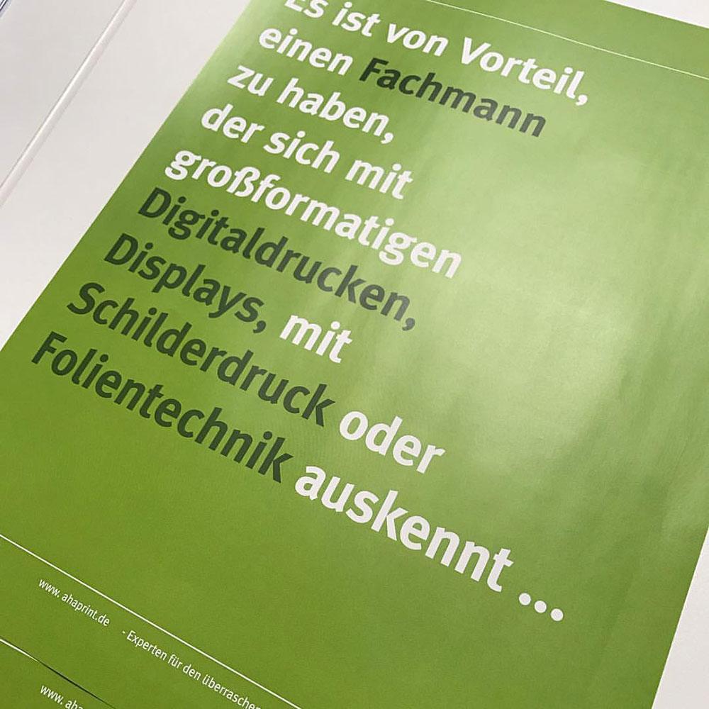 Poster AHAprint